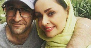 عکس هدایت هاشمی و همسرش نوروز 97
