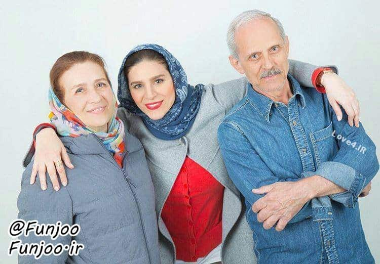 عکس سحر دولتشاهی پدر و مادرش نوروز 97