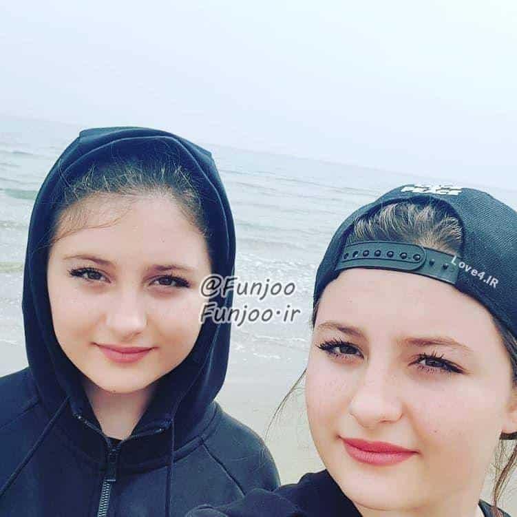 عکس جدید سارا و نیکای بازیگران پایتخت در سال جدید