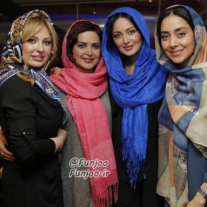 عکس بدون آرایش بازیگران زن ایرانی
