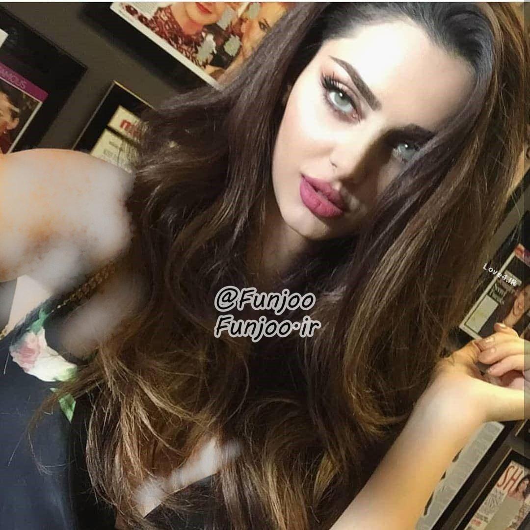 عکس جدید مهلقا جابری مدل ایرانی