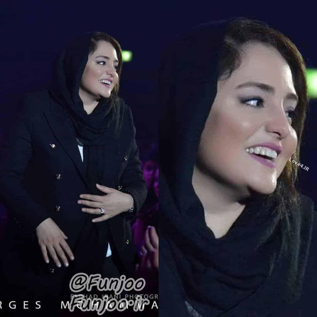 تیپ و مدل لباس مشکی نرگس محمدی
