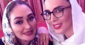 عکس جدید ليلا بلوكات و الهام حميدي شهریور ماه
