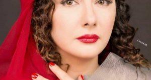 عکس جدید هانیه توسلی با ارایش زیبا