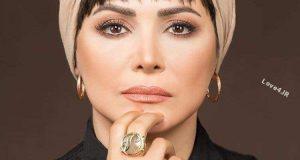 عکس جدید کمند امیر سلیمانی با ارایش زیبا