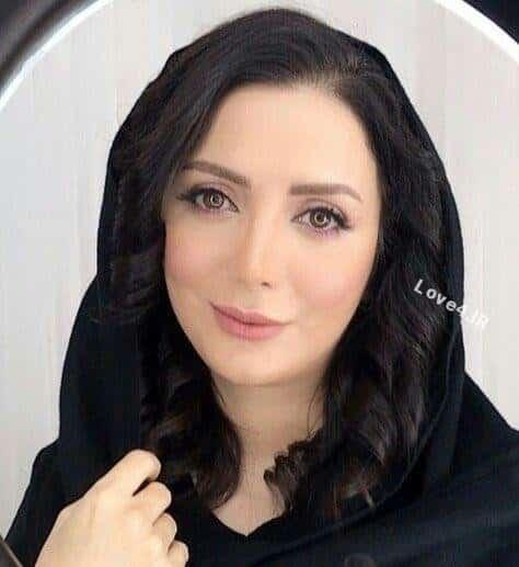 عکس جدید رویا میرعلمی با گریم زیبا
