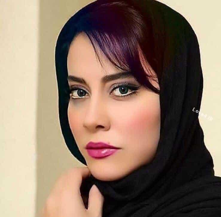 عکس جدید آشا محرابی با آرایش زیبا